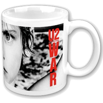 bögre U2 - War Boxed Mug - ROCK OFF - U2MUG01
