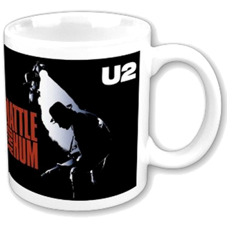 csandze U2 - Rattle and Zümmögand boxed Mug - ROCK OFF, ROCK OFF, U2