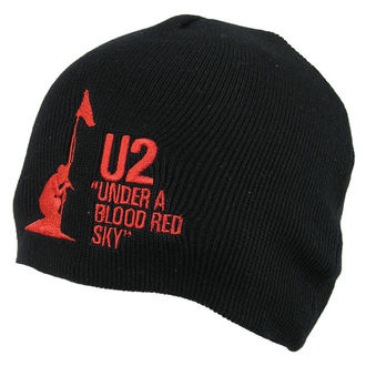 sapka U2 - U2 Beanie Hat Under A Blood Red Sky - ROCK OFF - U2BEAN01