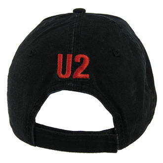 sildes sapka U2 - U2 Baseball Cap Under A Blood Red Sky - ROCK OFF