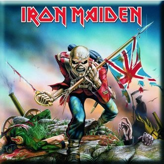 magnet Iron Maiden - The Trooper Fridge Magnet - ROCK OFF - IMMTheG01