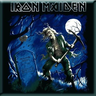 magnet Iron Maiden - Benjamin Breege Fridge Magnet - ROCK OFF - IMMAG08