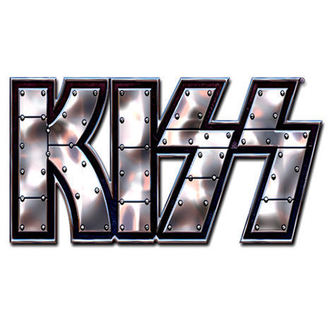 kitűző Kiss - Stud Logo pin badge - ROCK OFF - KISSPIN01
