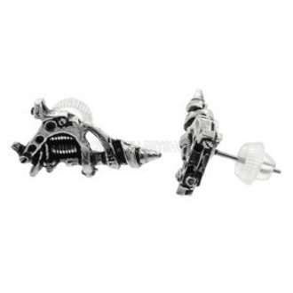 fülbevaló Tattoo Gun Earrings (pair) - ALCHEMY GOTHIC