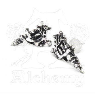 fülbevaló Tattoo Gun Earrings (pair) - ALCHEMY GOTHIC - ULFE3