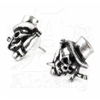 fülbevaló Live Now Earrings - ALCHEMY GOTHIC - ULFE5