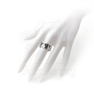 gyűrű Love/Hate Ring - ALCHEMY GOTHIC - ULR1