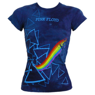metál póló Pink Floyd - Prism Longer Length - LIQUID BLUE - 13974