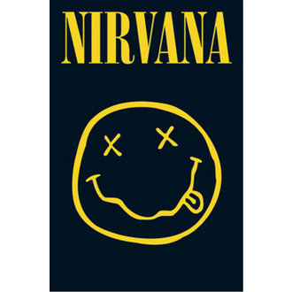 poszter - Nirvana - Smiley - LP1416 - GB posters