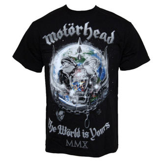 metál póló férfi Motörhead - The World Is Your - ROCK OFF - MHEADTEE14MB
