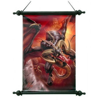 tekercs Art Scroll - Dragon Raid - NEM2696