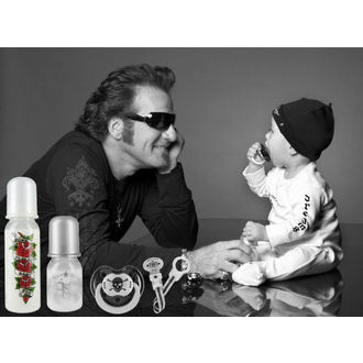gyermek üveg (250 ml) ROCK STAR BABY - Tatoo Pirate - 97070