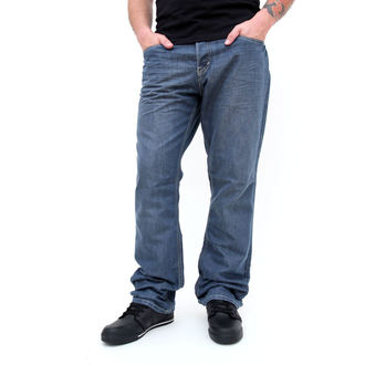 nadrág férfi -farmer- SLIM FIT - GLOBE - Coopar - GREY-BLUE