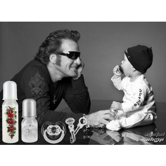 gyermek üveg (250 ml) ROCK STAR BABY - Heart @ Wings - 97060