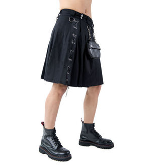 skót szoknya férfi ADERLASS - Eye Kilt Denim Black, ADERLASS