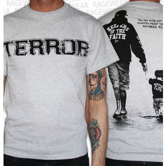 póló férfi Terror - New Blood - Grey - RAGEWEAR
