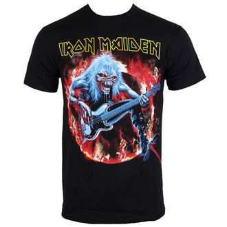 metál póló férfi Iron Maiden - Fear Live Flames - ROCK OFF - IMTEE07MB
