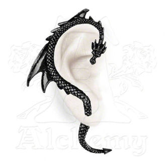 fülbevaló The Dragon´s Lure - Black - The ALCHEMY GOTHIC - E274B