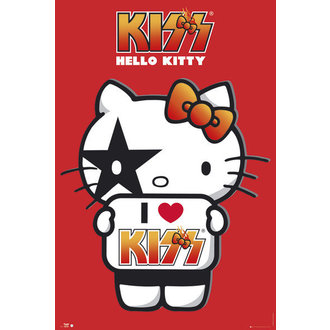 poszter Hello Kitty - Kiss I Love - GB Posters - GN0661