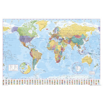 poszter World Map 2012 - GB Posters - GN0214