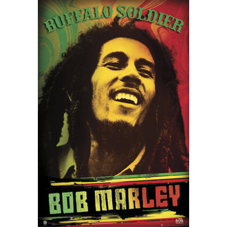 Bob Marley poszter - Buffalo Soldier - GB Posters - LP1470