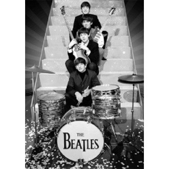 kép 3D The Beatles - On Stage - GB Posters - LN0074
