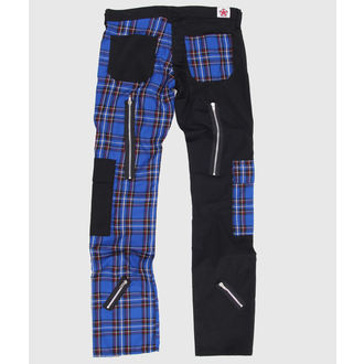 nadrág Black Pistol - Freak Pants Tartán Black-Blue - B-1-21-060-03