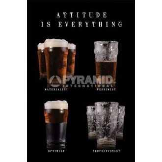 poszter Attitude Is Everything - Pyramid Posters - PP31518
