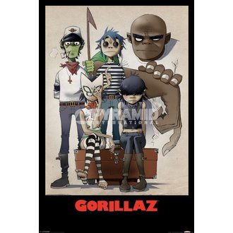 poszter Gorillaz - All here - Pyramid Posters - PP32465