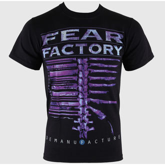 Fear Factory férfi póló - Demanufacture - Black - LIVE NATION - RTFFA0010