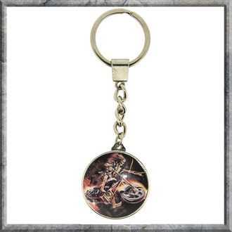 kulcstartó Anne Stokes - Keyring - Hell Rider - NOW7203