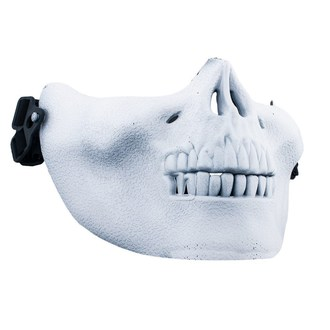 maszk POIZEN INDUSTRIES - Skull Mask - White