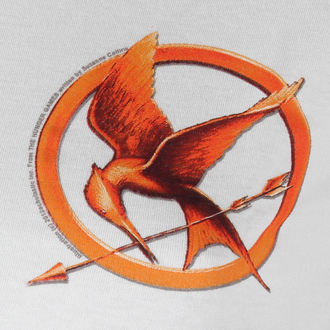 filmes póló női Hunger Games - Mocking Jay Pin - LIVE NATION