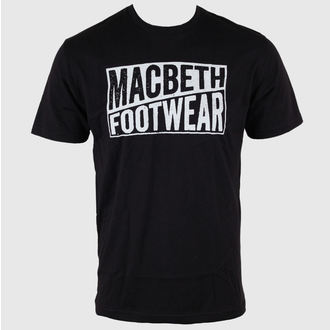 póló férfi MACBETH - Old Type - Black Classic