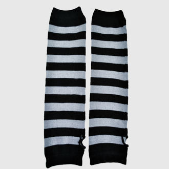 ujj POIZEN INDUSTRIES - Stripe Armwarmer - Black/Grey