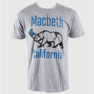 utcai póló férfi - El Oso - MACBETH - Heather Grey