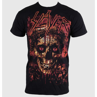 metál póló férfi Slayer - Crowned Skull - ROCK OFF - SLAYTEE11MB