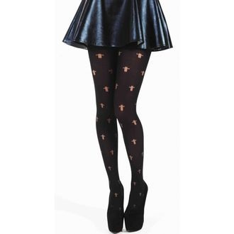 harisnyanadrág PAMELA MANN - Opaque Cross Tights - Black - 042