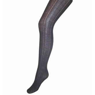 harisnyanadrág PAMELA MANN - Pointelle Rib Tights - Black