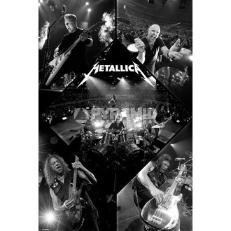 poszter Metallica - Live - PYRAMID POSTERS - PP32830