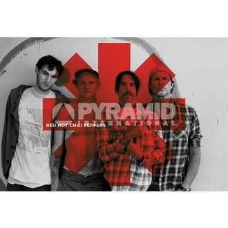 poszter Red Hot Chili Peppers - Red Asterix - PYRAMID POSTERS - PP32844