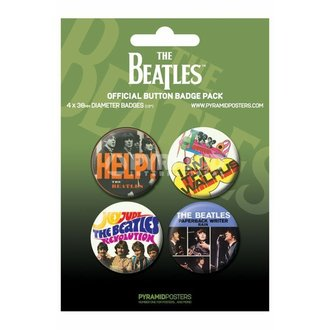 jelvények The Beatles - Green - PYRAMID POSTERS - BP80284