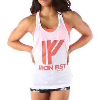 IRON FIST női trikó - Jungle Warrior - WHT
