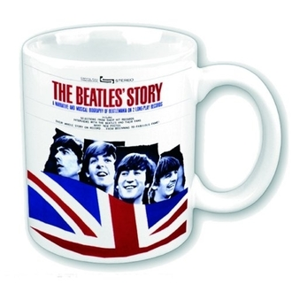 The Beatles bögre - The Beatles Story - ROCK OFF - BEATMUG27
