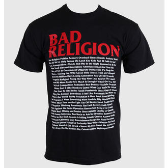 metál póló férfi Bad Religion - Song List - KINGS ROAD, KINGS ROAD, Bad Religion
