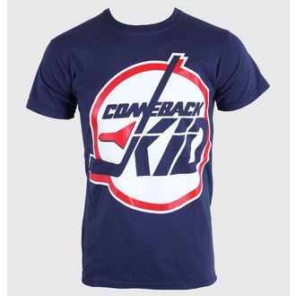 póló férfi Comeback Kid - Jets - Blue Navy - KINGS ROAD - 00016