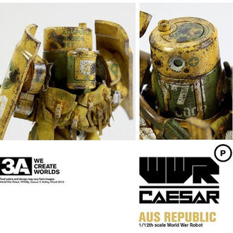 bábu World War Robot