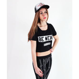 póló női unisex - Be Weird Crop - KILLSTAR, KILLSTAR