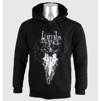 kapucnis pulóver férfi Lamb of God - Candle Light - PLASTIC HEAD - PH8196HSWZ
