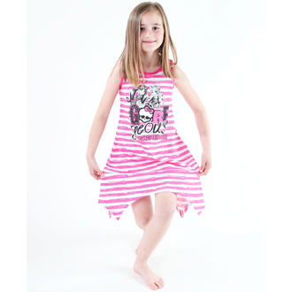 ruha lány Tv MANIA - Monster High - White / Pink - MOH 550